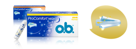 Тампоны o.b.<sup>®</sup>ProComfort™ Night